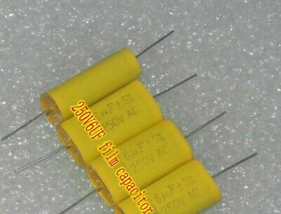 600V0.33uf 334k Metallized polyester film capacitor Copper foot HiFi Capacitors