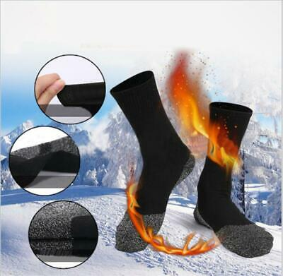 US! 35 Below in Winter Keep Your Feet Warm and Dry Thin Black Thermal Socks