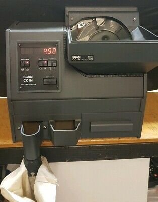 Scan Coin SC-102 MIXED Coin Counter Sorter Perfect for Retails, Carwash and more
