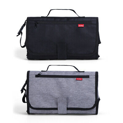 Padded Changing Portable Bag Change Clutch Infant Mat Diaper Bag Waterproof Baby