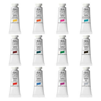 Winsor & Newton Designers Gouache Paint 14ml Tube in 82 Colours (Listing 1 of 2)