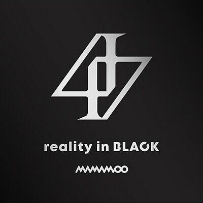 MAMAMOO [REALITY IN BLACK] 2nd Album CD+POSTER+Photo Book+Lyrics+3p Card+GIFT