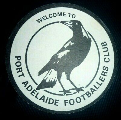 Collectable coasters: Port Adelaide Footballers Club coaster