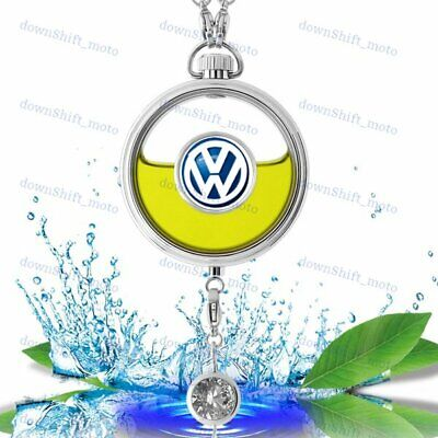 For VOLKSWAGEN Car Air Freshener Perfume Bottle Diffuser Pendant - Lemon Scent