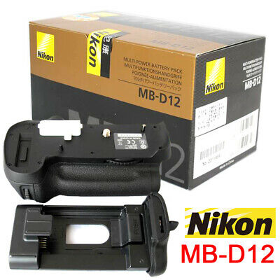 MB-D12 Battery Grip For NIKON D800 D800E D810 D810E Camera EN-EL15 UK