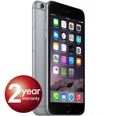 New Apple iPhone 6 64GB Space Grey 2 Year Warranty Unlocked SIM Free Smartphone