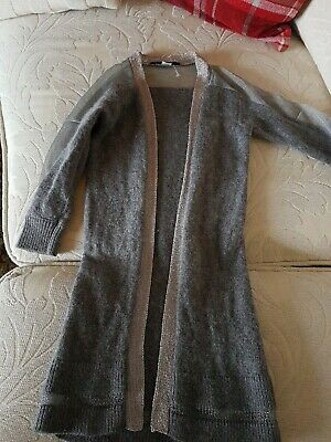 River Island Girls Gorgeous Long Cardigan Age 3-4 Excellent Condition