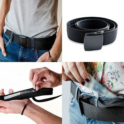 AU Travel Secret Waist Money Belt Protect Hidden Security Pouch Wallet Pocket