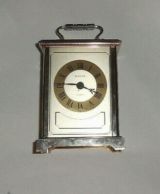 Bulova SURREY Quartz Carriage Clock B1304      **LQQK**