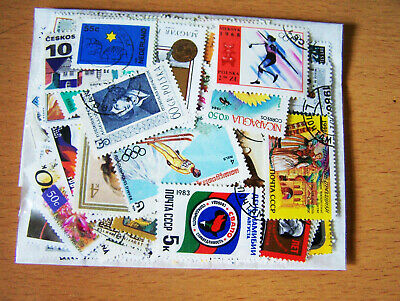 100 Different India & World wide Rare CTO Mint stamps Pack Superb Lot