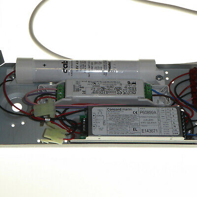LED Emergency Battery back-up Driver Control Gear Concord Inverto 3080078+