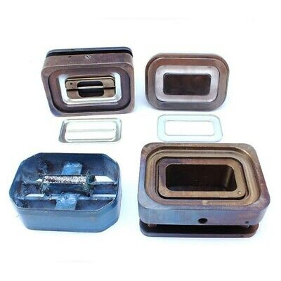 4pcs Fabric Covered Button Tools Dies Mold for Slider Buckle Press Machine