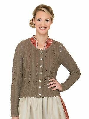 Stockerpoint Traditional Knitted Jacket Liz2 Nut