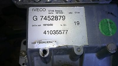Pedal Box C/W Master Cylinders - From Ford Iveco Eurocargo Breaking