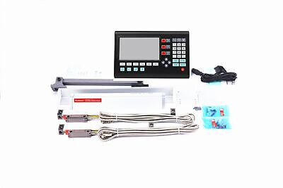Larger 3 Axis LCD digital readout dro and linear scale / linear encoder milling