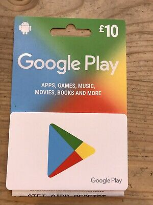 £10 Google Play Gift Card - unwanted gift