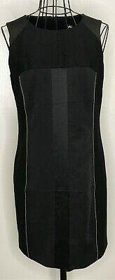 OASIS Brand New with Tags RRP £80 Black Zip Pencil Bodycon Party Dress UK 12