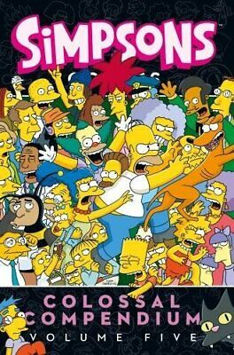 Simpsons Comics Colossal Compendium 5, Very Good, Books, mon0000156588