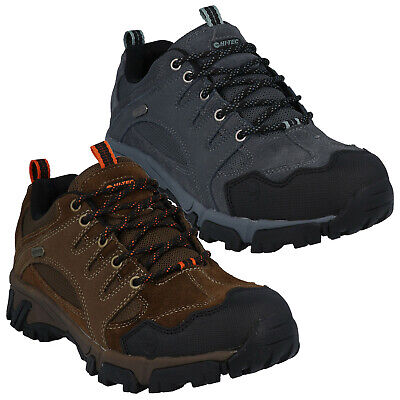 2020 Hi-Tec Mens Auckland II Waterproof Walking Shoes - Hiking Trail Trainers