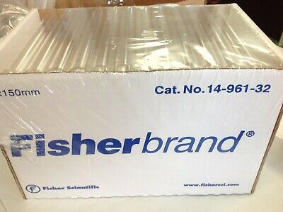 Fisherbrand 14-961-32 Disposable Culture Tubes 18x150mm SEALED