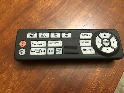 Oem 2011 2012 2013 2014 Honda Odyssey Touring Dvd Entertainment Remote Control