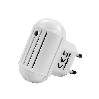 Electronic Insect Repeller for Socket with Ultrasound White 220V