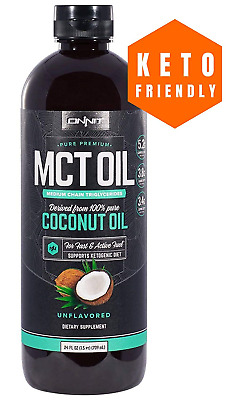 Onnit MCT Oil - Pure MCT Coconut Oil, Ketogenic Diet and Paleo Optimized with -
