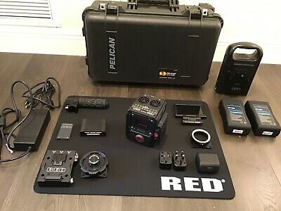 Red Dsmc2 Dragon X 5K S35 Unified Huge Kit, Lcd, Lens, Lcd,Top Handle,Low Hours