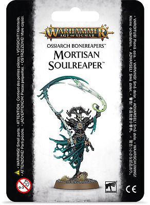 Warhammer Age of Sigmar Ossiarch Bonereapers Mortisan Soulreaper Tomb Kings