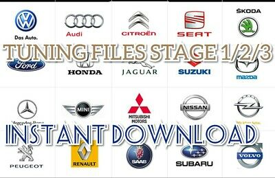 ECU Map Files / Stage 1 / 2 /3 Tuning Files All Makes & Models INSTANT DOWNLOAD