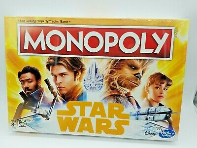 Monopoly Solo Star Wars Edition - New in Box Disney Hans Solo