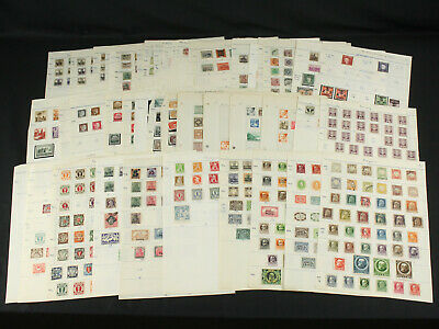Awesome Germany States+ Collection Lot Early Bayern, Danzig+ Nazi Inf. Used+Mint