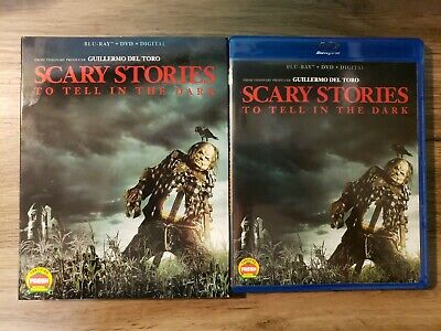 Scary Stories To Tell In The Dark 2019 Blu Ray  + DVD  + Digital W/ Slipcover
