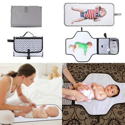 Durable Baby Changing Pad Infant Nappy Cover Toddler Waterproof Travel Mat USA