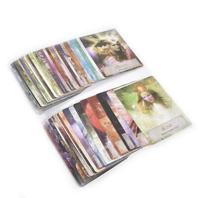 52 Sheets Goddess Power Oracle Tarot Cards Board Game Card Colette Baron-Reid Ca