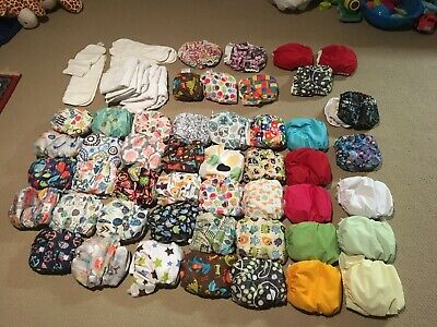 Blueberry Cloth Diaper Lot