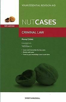 Nutcases Criminal Law by Penny Childs | Book | condition good