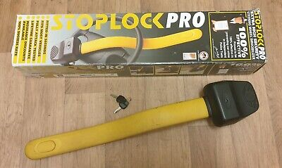 Stoplock Pro Steering Wheel Immobiliser Security Lock Protection Anti-Theft