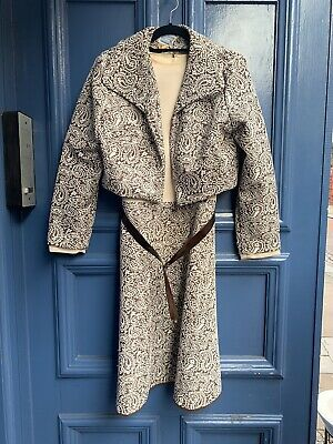 True Vintage 60 s Two Piece Suit Size 12 Dress And Jacket By Freeman Of London