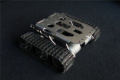 US New DIY For Arduino Metal Independent Suspension System Robot Tank Chassis