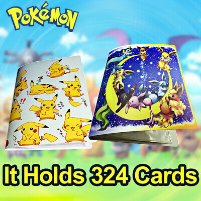 NEW 324P Capacity Card Holder for Pokemon Album Book List Collectors Folder