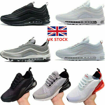 Mens Womens Air Max-270 Running Shoes Light Sport Trainer Sneakers Size UK 3-10