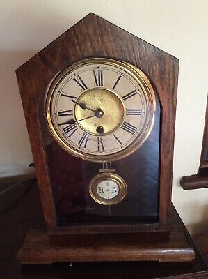 ANTIQUE MANTLE CLOCK. American Or German? pre 1900