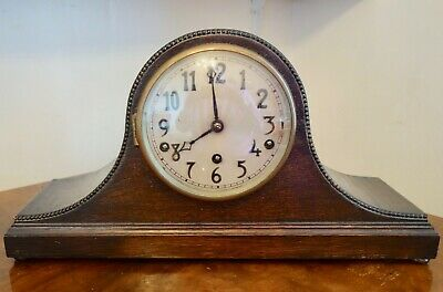 Westminster Chime Mantel / Mantle Clock - Running