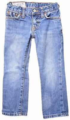 POLO RALPH LAUREN Boys Jeans 2-3 Years W18 L15 Blue Cotton Straight  LS08