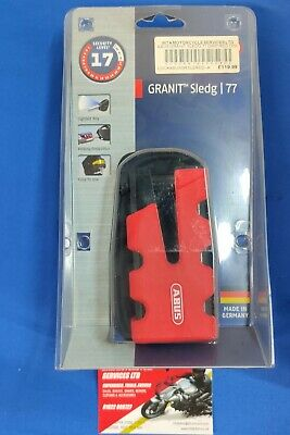 Abus Granit Sledg 77 RED Motorcycle Disc Lock