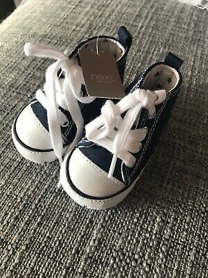Next Baby Shoes- Navy Blue- Size 0