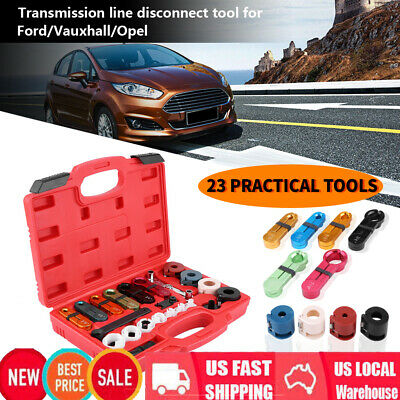 Fuel Transmission Line Cooler Quick Disconnect A/C Tool Kit for Ford /Vauxhall