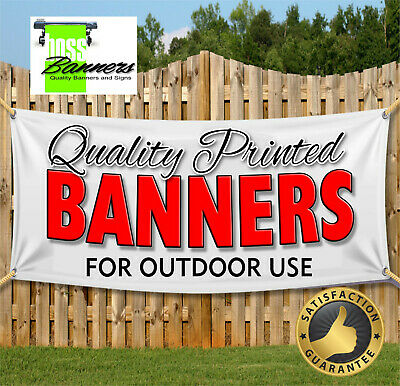 Full Colour Outdoor Banner Signs Shop Vinyl Printed Business Banners Free Design