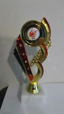 FATHER CHRISTMAS TROPHY FREE ENGRAVING FREE P/&P